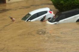 وفاة ثلاثة في فيضانات اجتاحت شرقي تونس