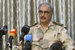 حفتر يؤكد مشاركة قواته بالهجوم المصري الجوي على ليبيا