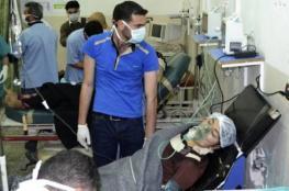 """نظام الأسد يقصف ريف دمشق بـ""""غاز الكلور"""""""