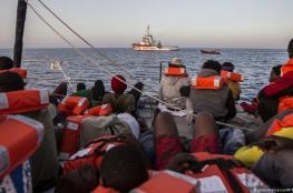 ارتفاع عدد قتلى كارثة قارب المهاجرين قبالة تونس إلى 58