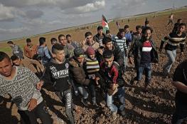 Israeli occupation forces injure 20 Palestinians at Gaza border clashes