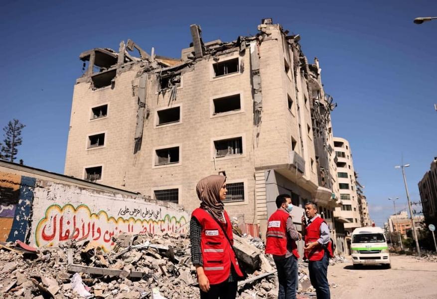 الهلال الأحمر القطري غزة (1)