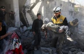 استشهاد 54 مدنياً في قصف متواصل للنظام على غوطة دمشق