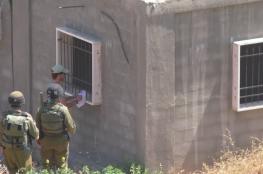 الاحتلال يأخذ قياسات منزل في بلدة الخضر جنوب بيت لحم