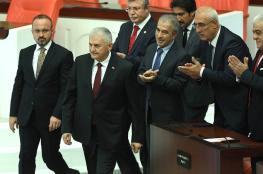 انتخاب رئيس الوزراء التركي السابق بن علي يلدريم رئيساً للبرلمان