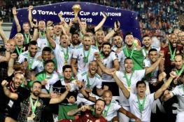 الجزائر أفضل منتخب في إفريقيا لعام 2019