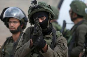 محلي قوات الاحتلال تعتدي على المشاركين في مسيرة كفر قدوم الاسبوعية