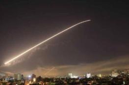 الدفاعات السورية تدمر طائرة مسيرة في سماء دمشق