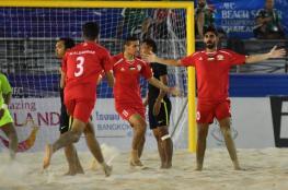 منتخبنا للكرة الشاطئية يخسر أمام اليابان في نصف نهائي بطولة آسيا