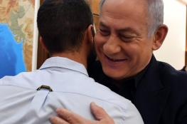 """نتنياهو لقاتل الأردنيين: لقد تصرفت بشكل جيد وأنت تمثل """"دولة إسرائيل"""""""