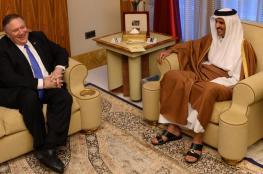 الأمير تميم يبحث مع بومبيو الأزمة الخليجية والتعاون الإستراتيجي