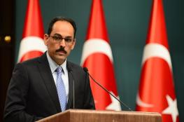 """تركيا تطالب """"إسرائيل"""" بوقف الاستيطان والتراجع عن قرار منع الأذان"""