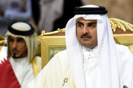 أمير قطر يستنكر اغلاق المسجد الاقصى ويؤكد تضامنه مع الشعب الفلسطيني