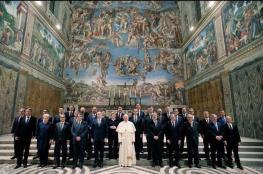 """أردوغان وصفه بـ """"التحالف الصليبي"""".. لماذا اجتمع قادة أوروبا في الفاتيكان؟"""