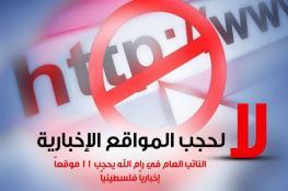 منظمة دولية: حجب المواقع الالكترونية هو استمرار لخنق الحريات وتقيد حرية الصحافة