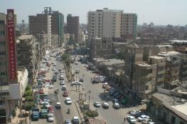 إصابة وأربع حوادث سير في قطاع غزة