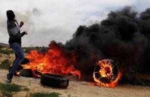 مواجهات مع قوات الاحتلال بالضفة الغربية
