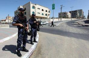 وزارة الداخلية في غزة تنهي ترتيباتها لاستقبال حكومة الحمد الله المقرر مجيئها الى غزة غدا