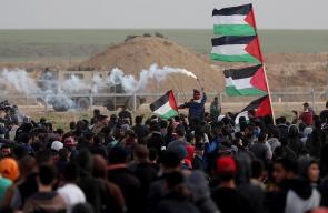 إصابات بقمع الاحتلال مسيرات جمعة غزة عصية على الانفصال والانكسار