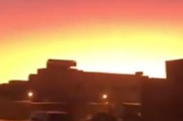 حرائق سيبيريا تضيء سماء السعودية!