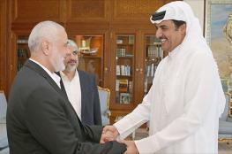هنية يتلقى اتصالًا من أمير قطر معزيًا بوفاة شقيقه