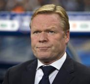 رونالد-كومان،-المدير-الفني-لهولندا-ولاعب-برشلونة-السابق