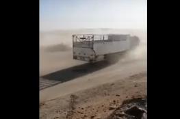 تحرك مخيف لشاحنة دون سائق في الرياض