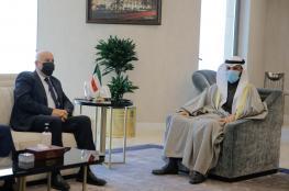 الغانم: الكويت تدعم الوحدة الفلسطينية ولن تهرول نحو التطبيع