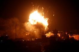 الاحتلال يدمر مبنى فضائية الأقصى بمدينة غزة