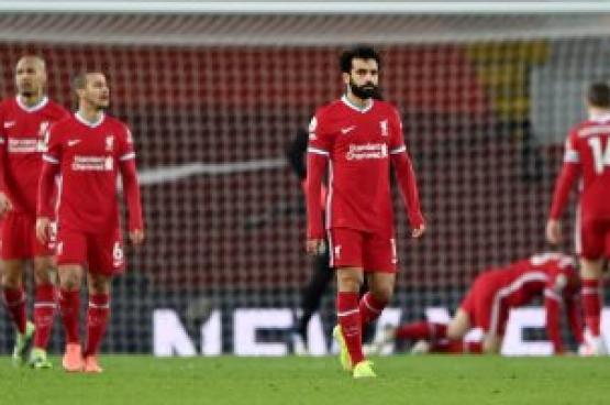 ليفربول يواصل الانهيار بهزيمة جديدة من إيفرتون
