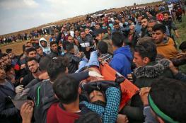 """""""أطباء بلا حدود"""": جرحى مسيرات غزة يعانون إصابات معقّدة"""