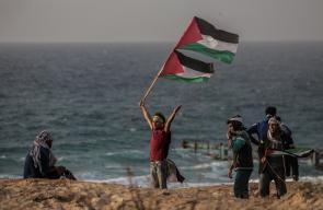 المسير البحري الـ20 شمال غزة