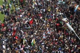 فلسطين تتوشح بالحزن ونابلس تودع أقمارها