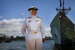شاهد: سيدة مصرية تقود وحدة صواريخ قوات البحرية الأسترالية