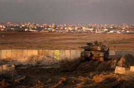 الاحتلال يرفع حالة التأهب على حدود القطاع