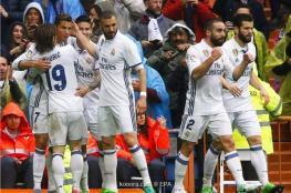 ريال مدريد يعتلي الصدارة مؤقتا بفوز شاق على فالنسيا