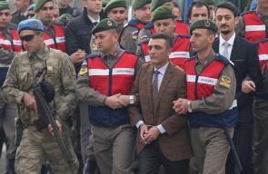 محاكمة المتهمين بمحاولة اغتيال أردوغان في تركيا
