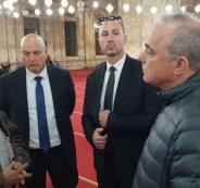 يوفال-شتاينتس-في-مسجد-محمد-علي-780x405