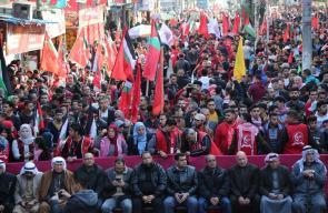 الجبهة الشعبية تحيي انطلاقتها الـ52 بمسيرة حاشدة بغزة