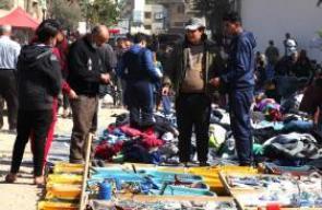 إعادة فتح سوق اليرموك بغزة