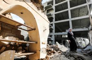 تضرر قرية الفنون ودار الكتب الوطنية بالقصف الإسرائيلي