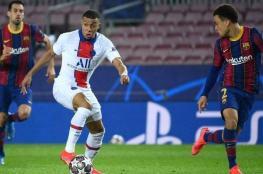 موناكو يكيل السخرية من برشلونة ومبابي بعد الفوز على سان جيرمان