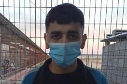 الاحتلال يفرج عن الأسير الشاب محمد ديب من غزة
