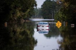 """43 وفاة حصيلة ضحايا عاصفة """"فلورنس"""" التي تضرب الولايات المتحدة"""