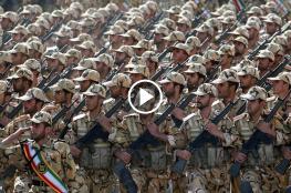 """""""شاهد"""" لحظة وقوع هجوم استهدف عرضا عسكريا في مدينة الأهواز الإيرانية"""
