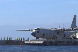 الأردن يغرق طائرة عسكرية لأغراض سياحية