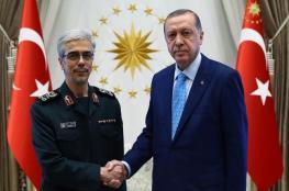 قلق إسرائيلي من زيارة رئيس الأركان الإيرانية لتركيا