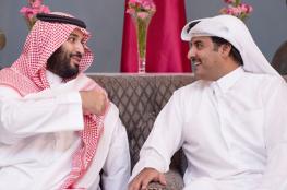 أمير قطر يهاتف ولي العهد السعودي ويبدى رغبته بالجلوس على طاولة الحوار