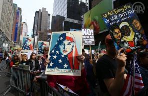 تواصل التظاهرات ضد ترامب في شيكاغو ونيويورك