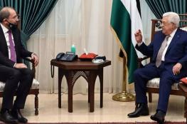وزير خارجية الأردن يزور رام الله